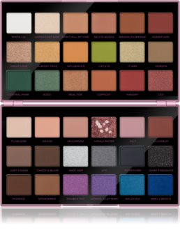 Makeup Revolution X Petra XOXO paletka očných tieňov