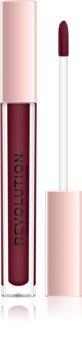 Makeup Revolution Lip Vinyl ruj de buze lichid pentru o stralucire puternica