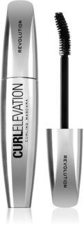 Makeup Revolution Curl Elevation Mascara für geteilte und geschwungene Wimpern