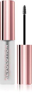 Makeup Revolution Brow Fixer gel na obočí