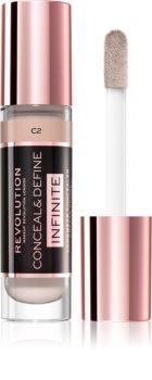 Makeup Revolution Infinite corector pentru reducerea imperfecțiunilor big pack