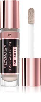 Makeup Revolution Infinite Deckender Korrektor zur Makelreduzierung Großpackung