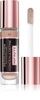 Makeup Revolution Infinite покриващ коректор за намаляване на несъвършенствата големи опаковки