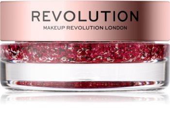 Makeup Revolution Viva Glitter Balm Pot блестящи частици