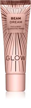 Makeup Revolution Glow Beam Dream Make-up Primer zum Aufklaren der Haut
