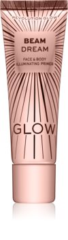 Makeup Revolution Glow Beam Dream озаряваща основа под фон дьо тен