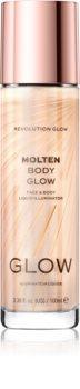 Makeup Revolution Glow Molten folyékony bőrélénkítő arcra és testre