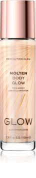 Makeup Revolution Glow Molten Liquid Highlighter for Face and Body