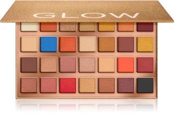 Makeup Revolution Glow Heatwave paleta cieni do powiek