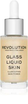 Makeup Revolution Glass ser facial cu efect iluminator
