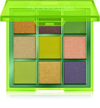 Makeup Revolution Viva Neon palette de fards à paupières