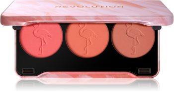 Makeup Revolution Flamingo palette de blush