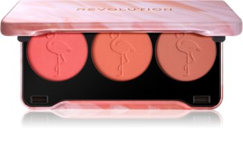 Makeup Revolution Flamingo палитра с ружове