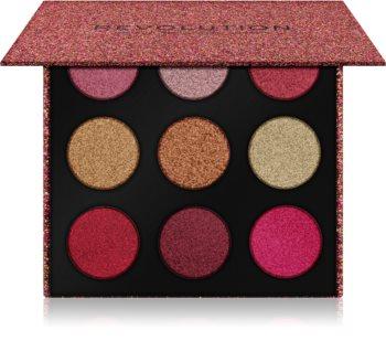Makeup Revolution Euphoric Foil szemhéjfesték paletta