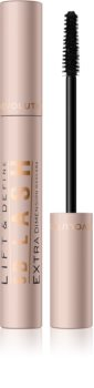 Makeup Revolution 5D Lash szempillaspirál a hosszú és dús pillákért
