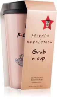 Makeup Revolution X Friends Espresso kávový tělový peeling