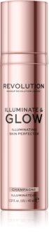 Makeup Revolution Glow Illuminate tekutý rozjasňovač
