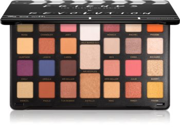 Makeup Revolution X Friends Limitless paleta očních stínů velká