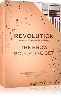 Makeup Revolution The Brow Sculpting подаръчен комплект (за жени )