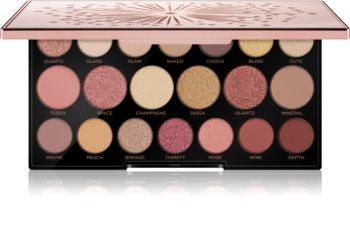 Makeup Revolution Precious Glamour Diamond paleta očních stínů