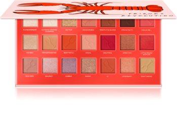 Makeup Revolution X Friends He's Her Lobster palette de fards à paupières