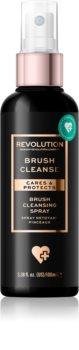 Makeup Revolution Brush Collection tisztító spray az ecsetekre