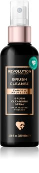 Makeup Revolution Brush Collection почистващ спрей за четки