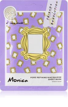 Makeup Revolution X Friends Monica masque tissu pour resserrer les pores