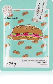 Makeup Revolution X Friends Joey Sheet Mask For Perfect Skin Cleansing