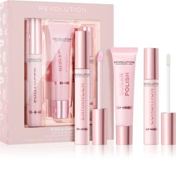 Makeup Revolution Kiss & Care sada na rty