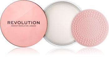 Makeup Revolution Create płyn do czyszczenia pędzli ze szczotką