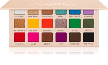 Makeup Revolution Soph X Super Spice paletka očních stínů
