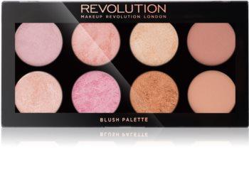 Makeup Revolution Golden Sugar 2 Rose Gold палитра с ружове