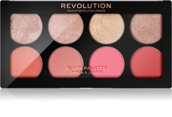 Makeup Revolution Blush палитра с ружове