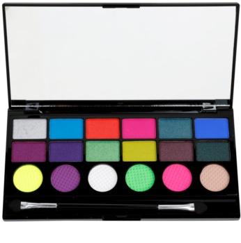 Makeup Revolution Colour Chaos paleta de sombras