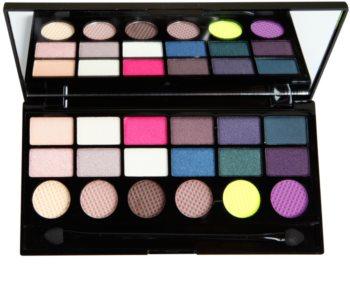 Makeup Revolution Dia De Los Muertos paleta očných tieňov