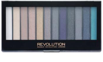 Makeup Revolution Essential Day to Night paleta očních stínů