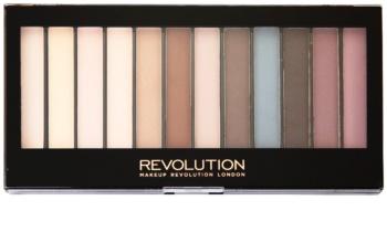 Makeup Revolution Essential Mattes paleta de sombras de ojos