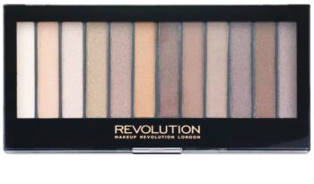 Makeup Revolution Essential Shimmers paleta de sombras de ojos