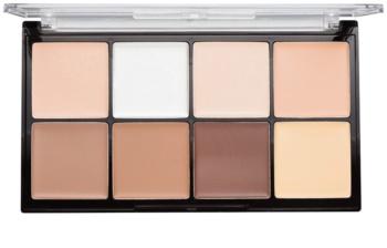 Makeup Revolution Ultra Pro HD Fair Creme-Palette für die Gesichtskonturen