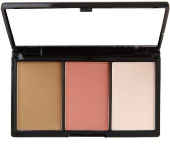 Makeup Revolution I ♥ Makeup I Heart Definition paleta na kontúry tváre