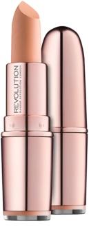 Makeup Revolution Iconic Matte Nude rúž s matným efektom