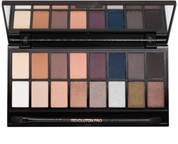 Makeup Revolution Iconic Pro 2 paleta očních stínů se zrcátkem a aplikátorem
