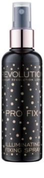 Makeup Revolution Pro Fix spray pentru fixare și strălucire