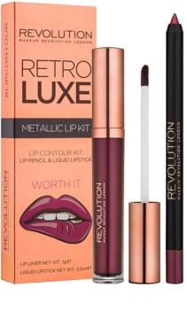 Makeup Revolution Retro Luxe kit per labbra