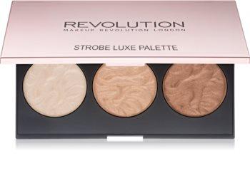 Makeup Revolution Strobe Luxe Highlighter Palette