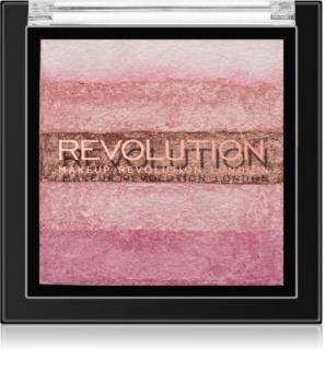 Makeup Revolution Shimmer Brick bronzeador e iluminador 2 em 1