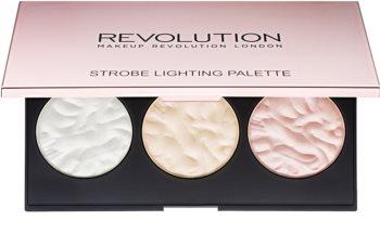 Makeup Revolution Strobe Lighting bőrvilágosító paletta