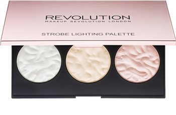 Makeup Revolution Strobe Lighting Highlighter-Palette