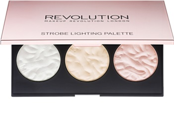 Makeup Revolution Strobe Lighting paleta de iluminadores